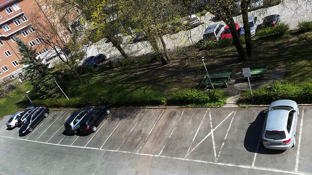 Parkeringsplasser